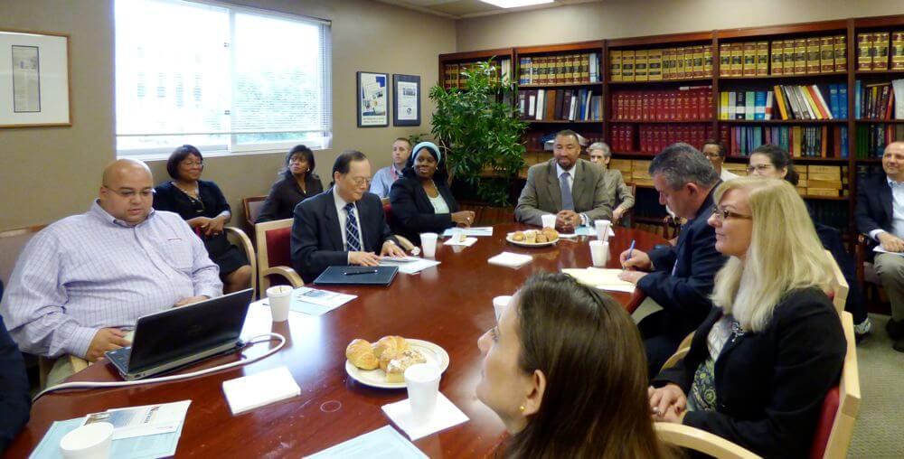 Leadership Newark Hosts Corporate Breakfast