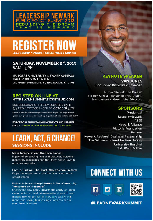 Prudential, Rutgers-Newark, PSEG and other sponsors join Leadership Newark Summit – Written By: Kim J. Ford