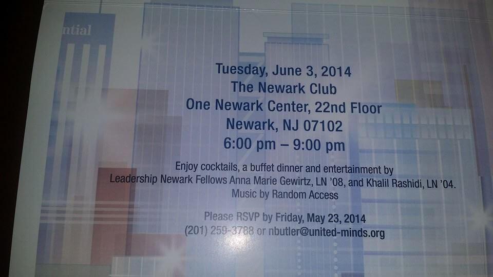 Leadership Newark Unveils Theme Song, 'Newark, We Believe'