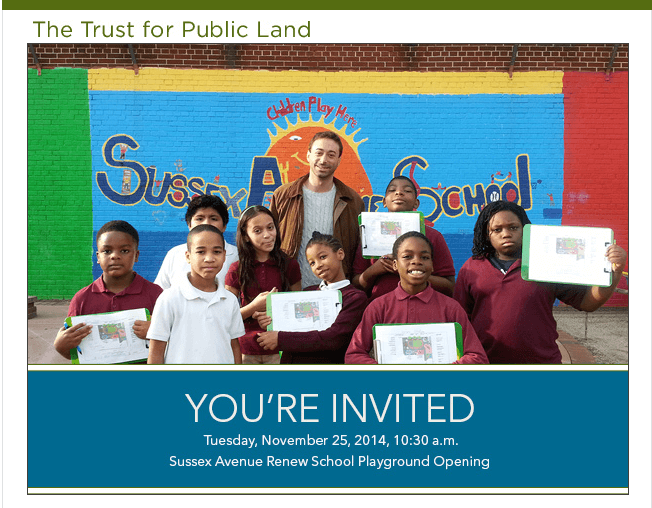 Ribbon-Cutting Event at Sussex Avenue Renew School