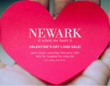 The City of Newark's Valentine's Day Sale Celebrates the Spirit of Loving AND Living in Newark – Written By: Laureen Delance, MPA